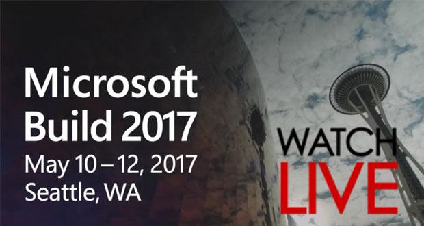 پخش زنده مراسم مایکروسافت بیلد 2017 (Microsoft Build 2017)