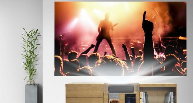 پروژکتور لیزری اپسون Home Cinema LS100 با قابلیتهای ویژه معرفی شد