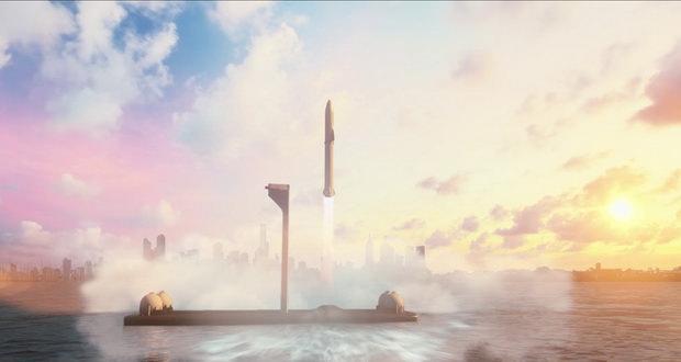 سیستم حمل و نقل بین سیاره ای SpaceX در خدمت سفرهای طولانی زمینی!
