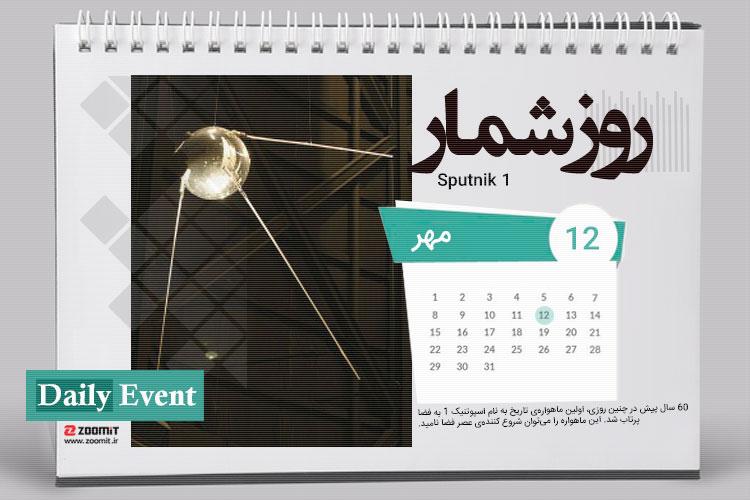 ۱۲ مهر، پرتاب ماهواره اسپوتنیک 1 و تأسیس بنیاد نرم افزار آزاد