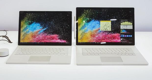 لپ تاپ مایکروسافت سرفیس بوک 2 (Microsoft Surface Book 2) با مشخصات قدرتمند معرفی شد