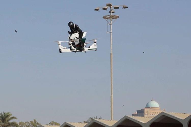 استفاده از هاوربایک به شکل عقرب در پلیس دبی