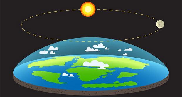 افزایش تبلیغات برای نظریه زمین تخت ؛ زمین تخت گرایان به آب و آتش می زنند!