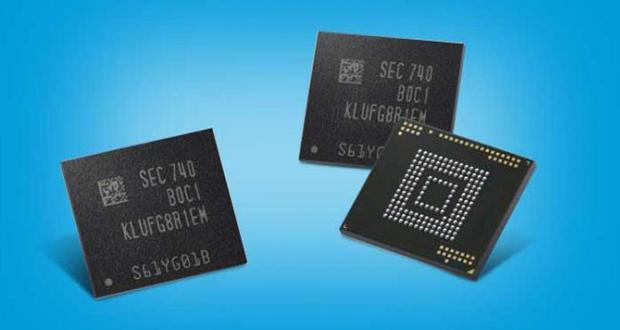 حافظه موبایلی 512 گیگابایتی سامسونگ در نسل آینده گوشیهای پرچمدار