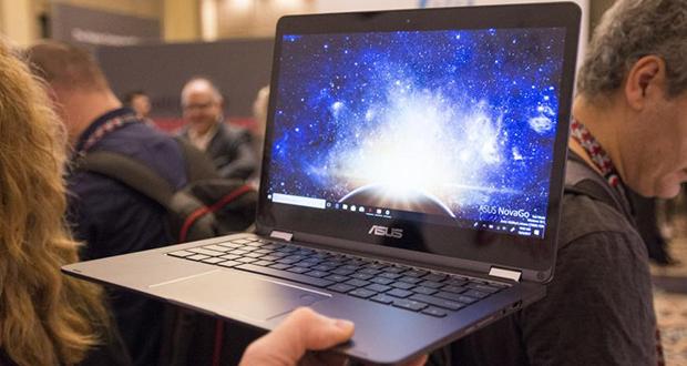 نخستین نسل لپ تاپ های ویندوز 10 مبتنی بر تراشه ARM با عمر باتری 1 روزه معرفی شدند