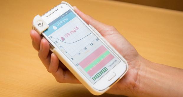 قاب محافظ جی فون (GPhone)؛ ابزاری ساده و کاربردی برای تعیین میزان قند خون با گوشی موبایل