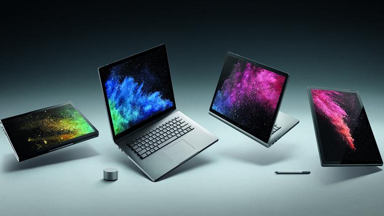 لپ تاپ های سرفیس بوک مایکروسافت تقریباً بی نقص هستند