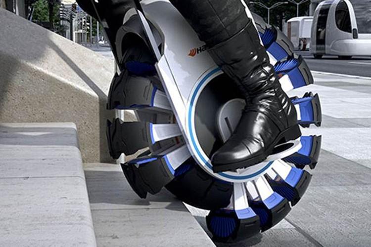 گزارش تصویری ایتنا // عجیبترین تایرها برای اتومبیلهای هوشمند