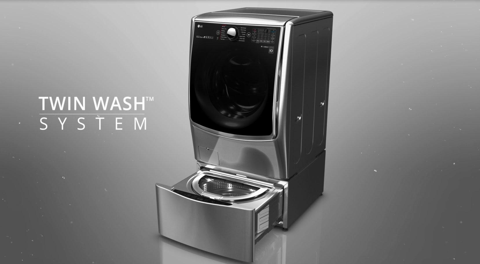 فناوری جدید در ماشین لباسشویی Twinwash  ال جی