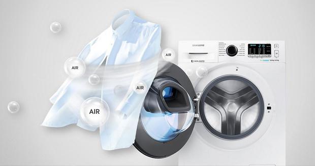 ماشین لباسشویی سامسونگ ادواش Q1479 ؛ مجهز به قابلیت خشککن صد درصد