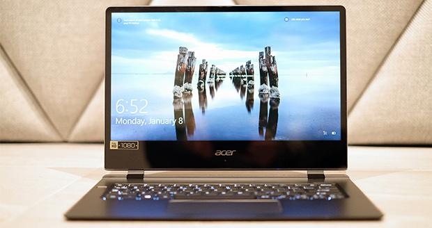 بررسی اولیه لپ تاپ ایسر سوئیفت 7 ؛ یک کامپیوتر باریک و شیک