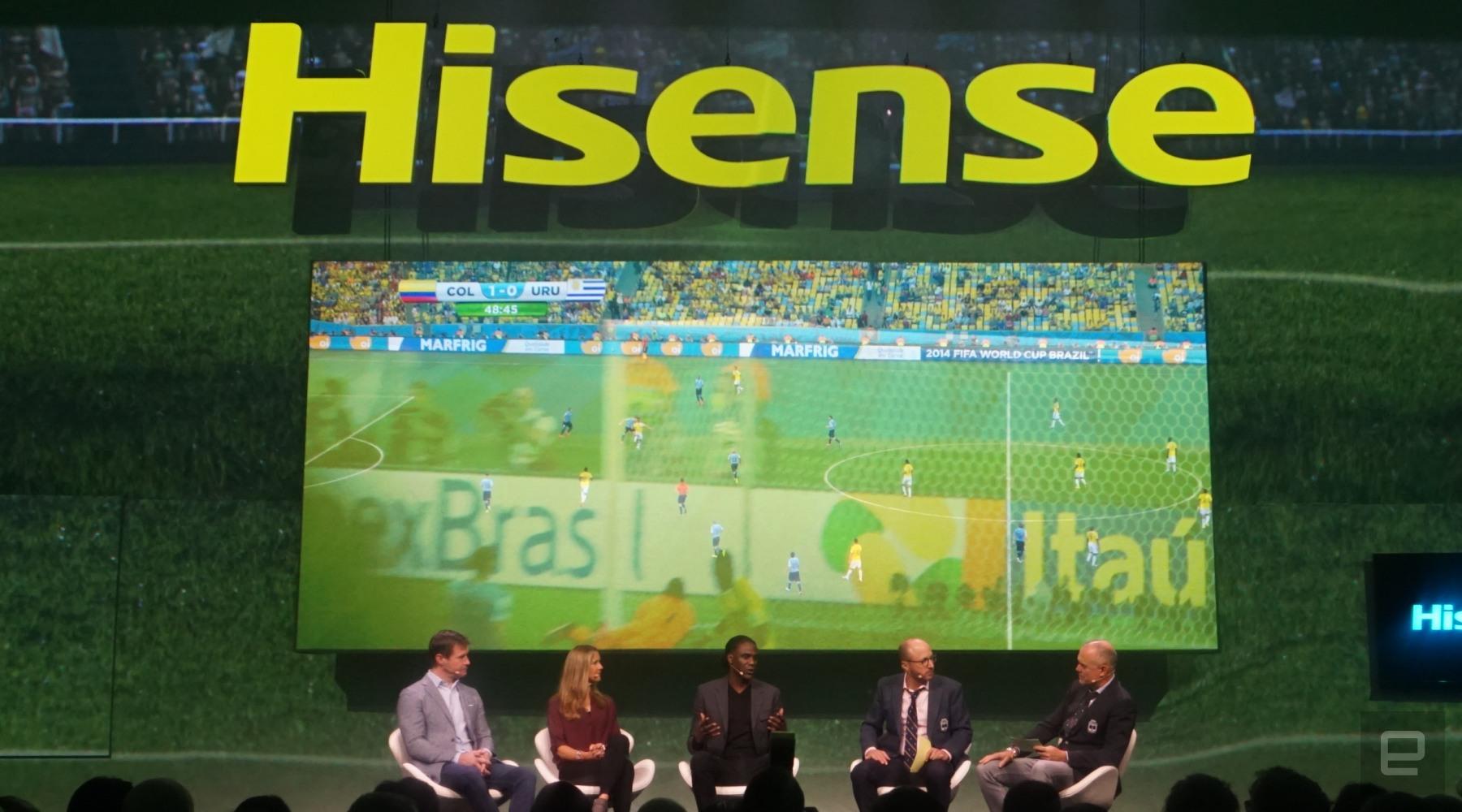 پخش بازی های جام جهانی با کیفیت ۴K HDR با اپلیکیشن هایسنس