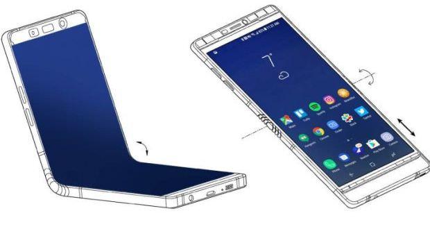 جزئیات بیشتر گوشی تاشو گلکسی ایکس (Galaxy X) در پتنت جدید سامسونگ