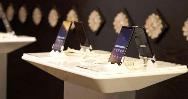 گوشی های سامسونگ گلکسی A8 و A8 پلاس در تهران رونمایی شدند