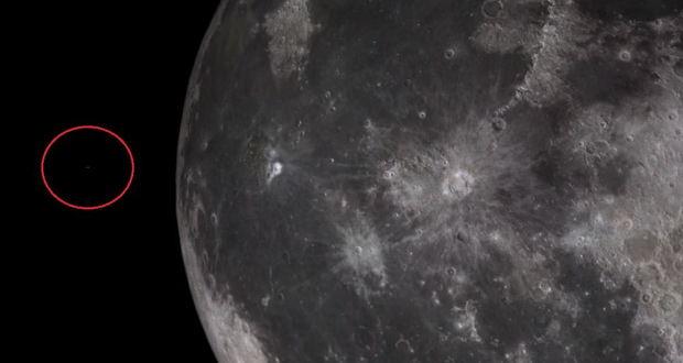 ویدیوی پرواز یوفو بر روی ماه ؛ اثبات وجود فرازمینیها یا حقهای کامپیوتری؟!