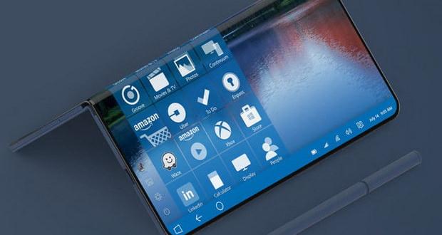 سرفیس فون مایکروسافت با «لولای زنده» و طراحی متمایز ارائه میشود