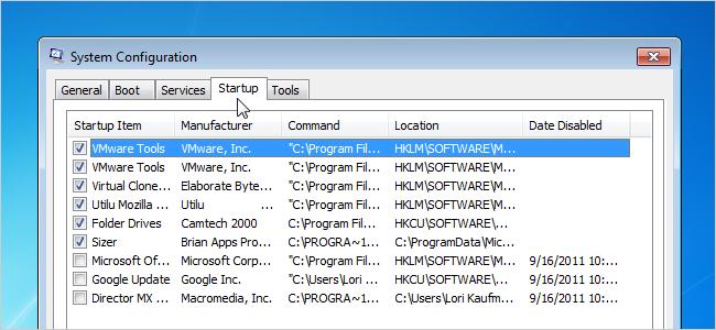 چطور از اجرای برنامه های استارت اپ در هنگام بالا آمدن ویندوز جلوگیری کنیم؟