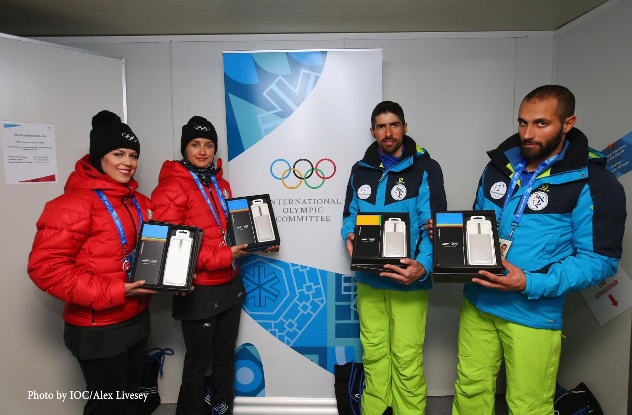 با عذرخواهی رسمی کمیته بینالمللی المپیک؛ هدیه سامسونگ به ورزشکاران ایرانی تقدیم شد