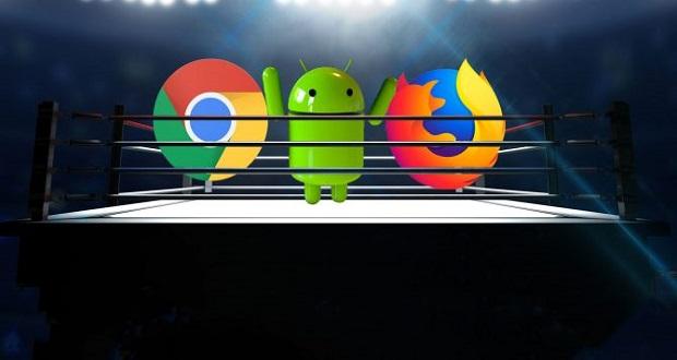 مقایسه گوگل کروم و موزیلا فایر فاکس ؛ کدام مرورگر اندرویدی بهتر است؟