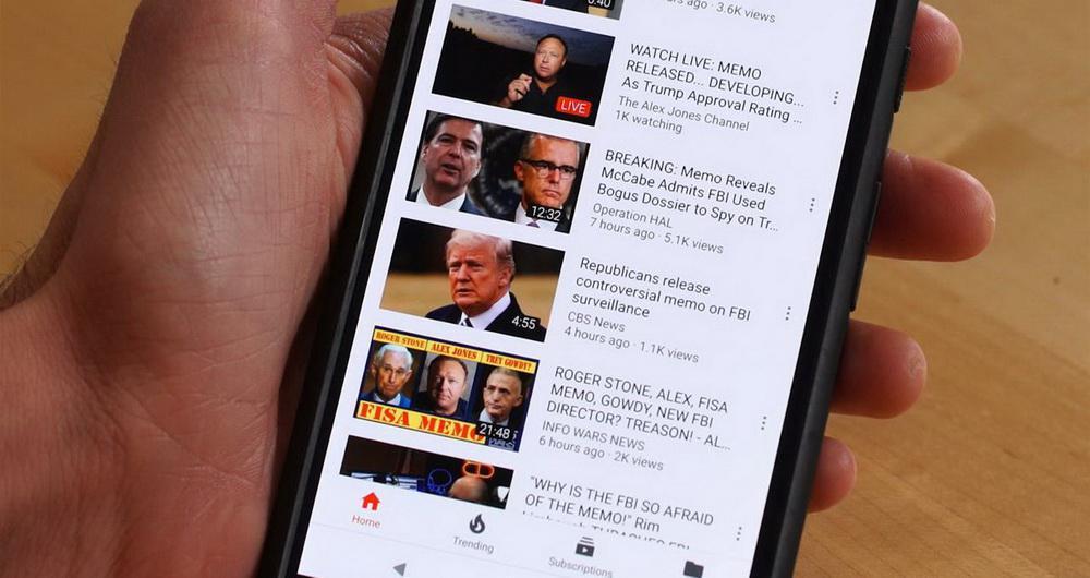 یوتیوب بازدیدکنندگان را به سایتهای تاریک اینترنت هدایت می کند