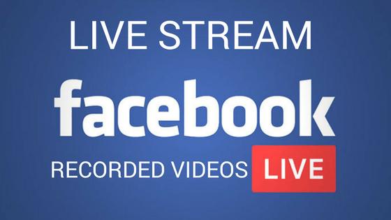 آموزش پخش ویدیوی ضبط شده به صورت لایو در فیس بوک