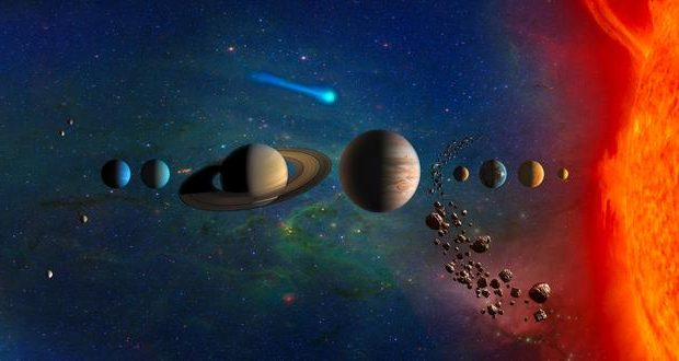 تصاویر منظومه شمسی ؛ گشتی در جهان شگفتانگیز اطرف به کمک تکنولوژیهای پیشرفته