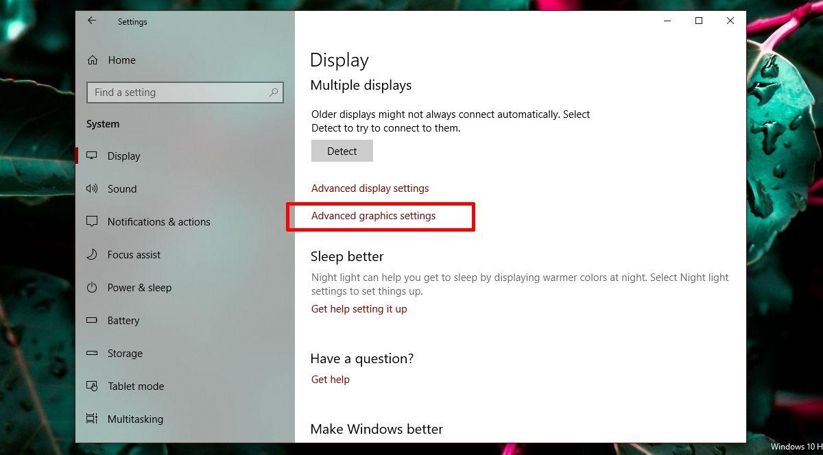 چگونه در ویندوز ۱۰ عملکرد گرافیک را به ازای هر اپلیکیشن تعیین کنیم؟