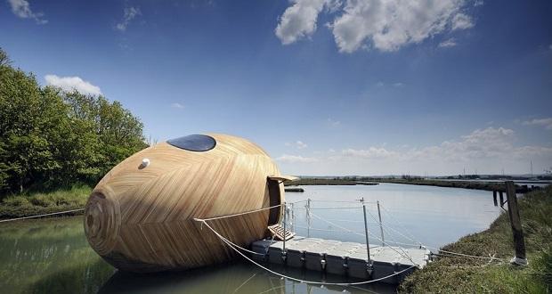 تصاویر بهترین خانه های شناور دنیا