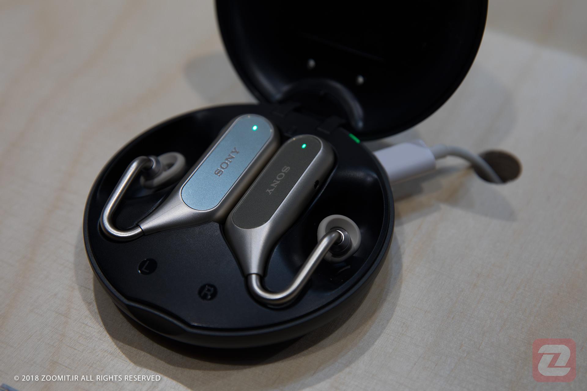 نگاه نزدیک زومیت به ایرفون Xperia Ear Duo سونی