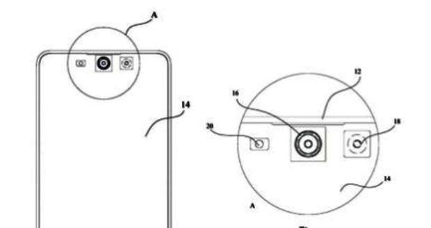 پتنت دوربین درون صفحه میزو آینده گوشی های تمام صفحه را نشان میدهد