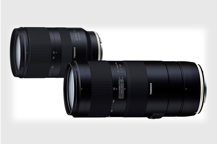 تامرون از دو لنز جدید برای دوربینهای فول فریم سونی، کانن و نیکون رونمایی کرد