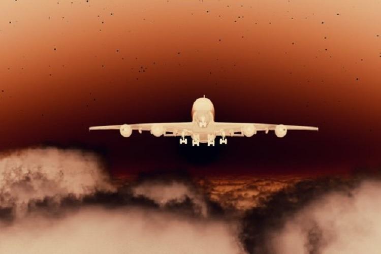 مشاهده عبور جسم آسمانی ناشناخته توسط دو هواپیمای مسافربری مستقل