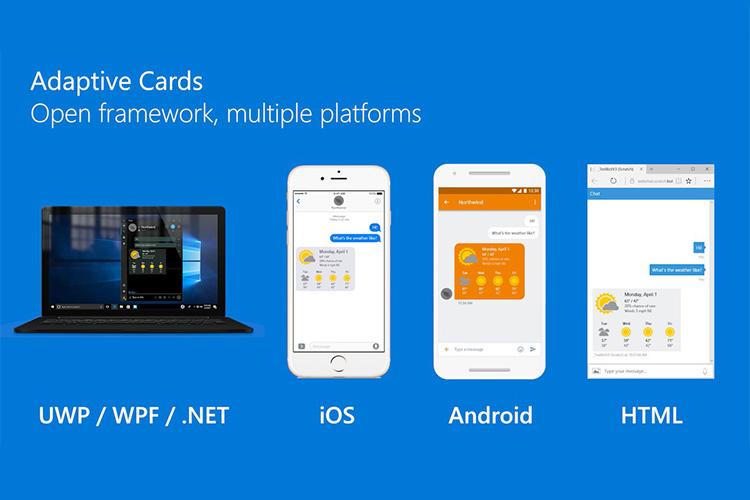 مایکروسافت با فریمورک کارتهای تطبیقپذیر، طراحی تمام پلتفرمها را یکپارچه میکند