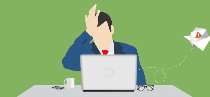 پس از اشتباه در ایمیل یا ارسال یک ایمیل اشتباهی چه کنیم؟
