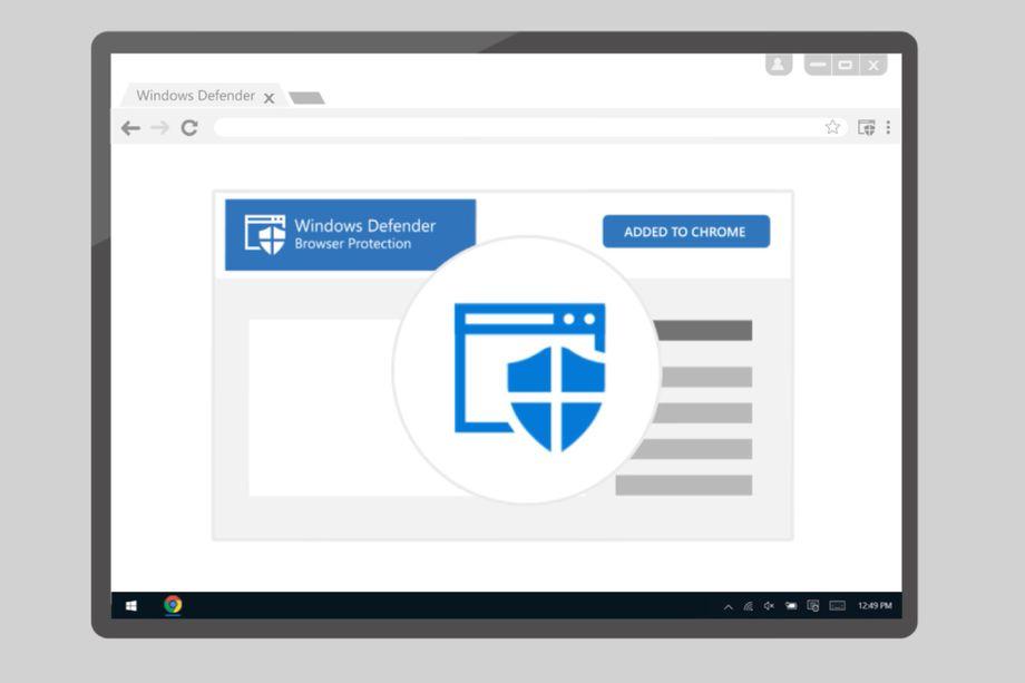 مایکروسافت افزونهی ویندوز دفندر را برای مرورگر گوگل کروم منتشر کرد