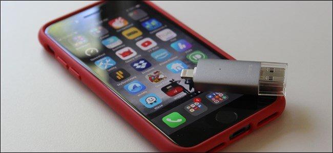 چطور از یک فلش درایو USB در آیفون استفاده کنیم