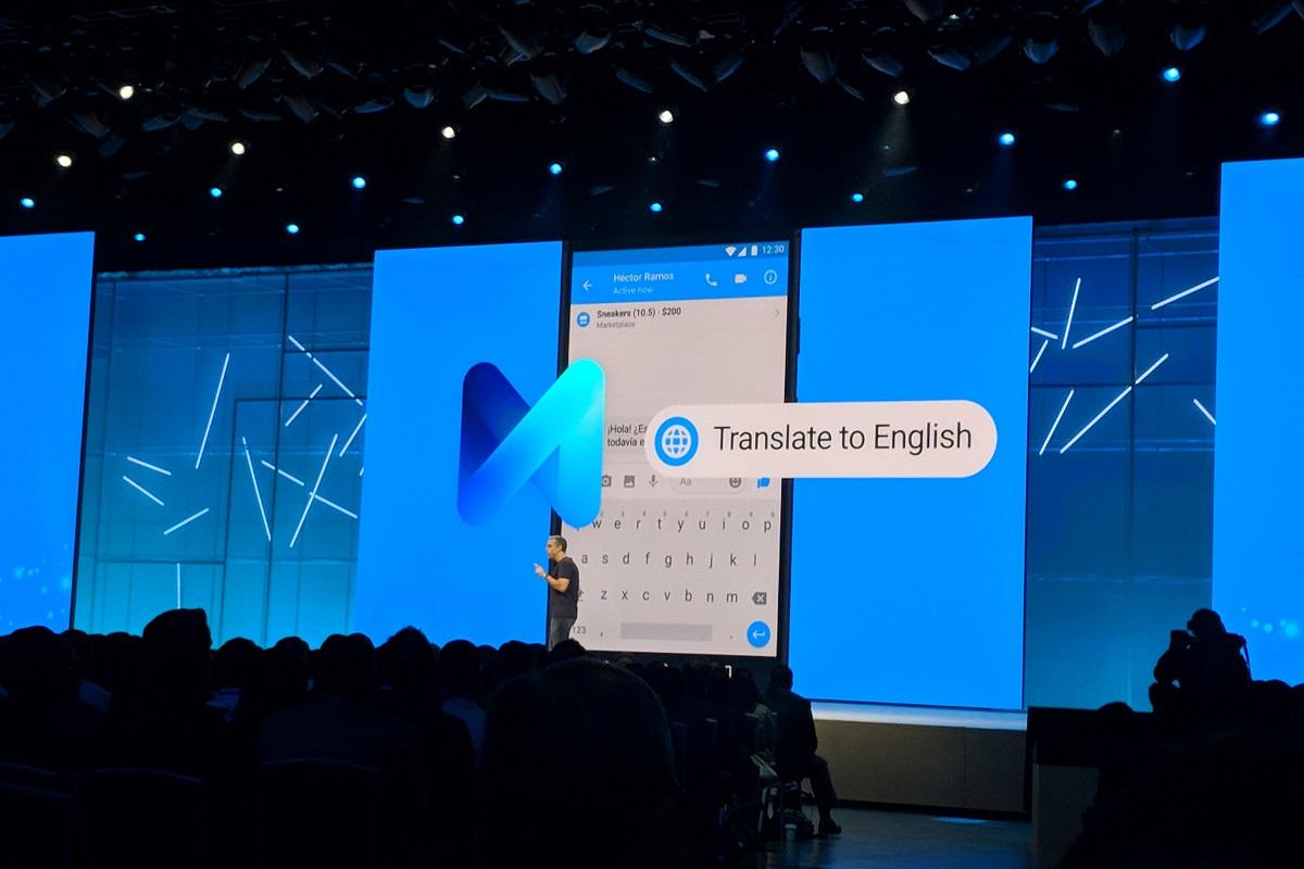 پیام رسان فیسبوک به قابلیت ترجمه با دستیار هوشمند M مجهز میشود
