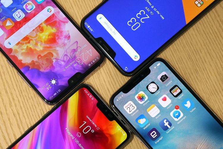 چرا بریدگی آیفون 10 از گوشیهای اندرویدی سر درآورده است