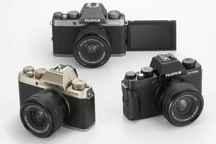 فوجی فیلم از دوربین عکاسی بدون آینه X-T100 با قیمتی رقابتی رونمایی کرد