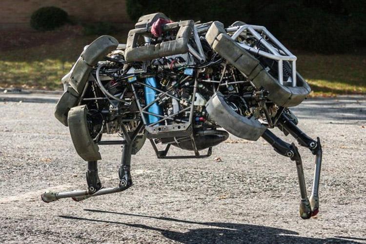 ربات های بوستون داینامیکس، پتانسیل رهبری قیام رباتیک را دارند