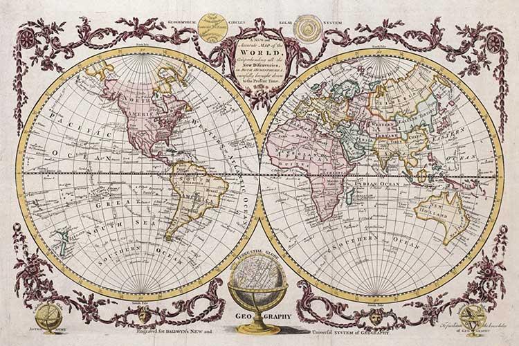 نقشههایی که جهان را تغییر دادند