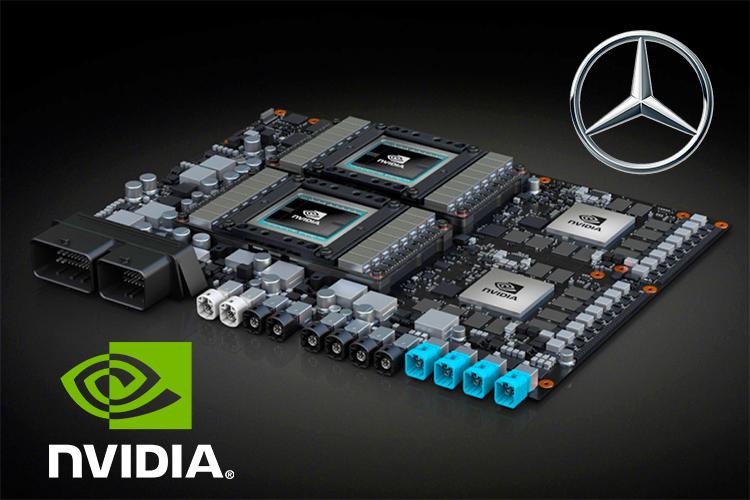 خودروهای خودران دایملر و بوش از پردازنده انویدیا استفاده میکنند