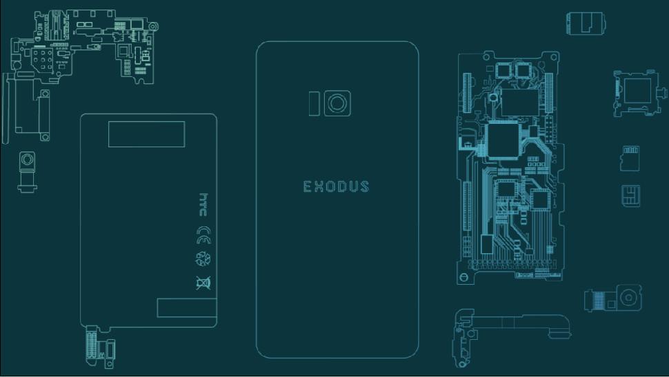 HTC Exodus ، اولین گوشی بلاکچین شرکت HTC