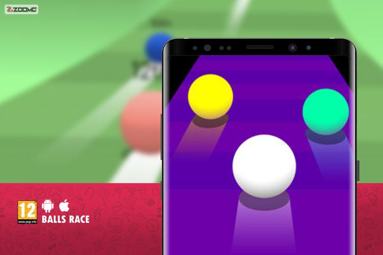 معرفی بازی موبایل Balls Race