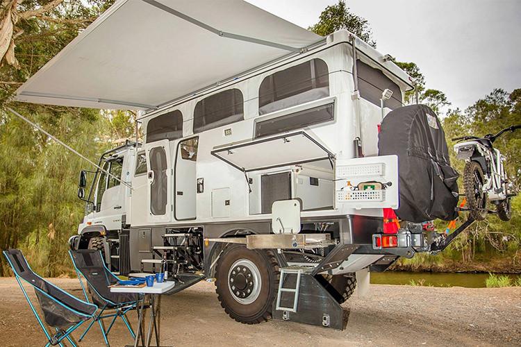 مرسدس بنز یونیماگ اکسپلورر؛ کامیونت مجهز برای سفر
