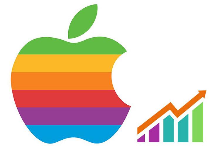 رشد سهام اپل در پی انتشار اخبار محصولات جدید