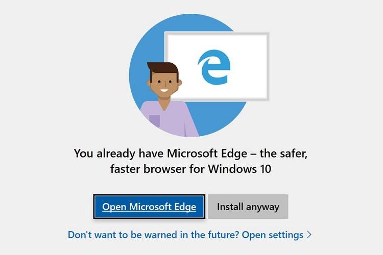 مایکروسافت هشدار نصب مرورگرهای دیگر در ویندوز 10 را حذف میکند