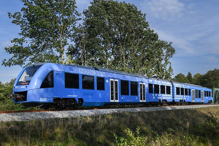 اولین قطار هیدروژنی جهان در آلمان راهاندازی شد