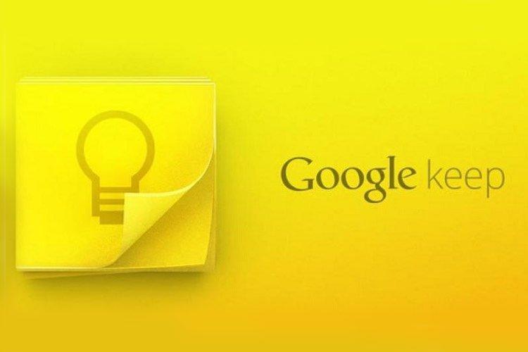 اپلیکیشن Google Keep به Google Keep Notes تغییر نام داد