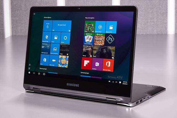 سامسونگ، لپ تاپ با نمایشگر تاشدنی تولید میکند
